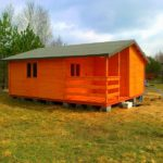 domki letniskowe całoroczne z drewna