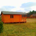 domki letniskowe całoroczne drewniane