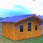 gotowy domek letniskowy drewno
