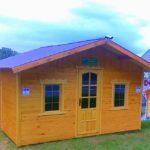 gotowy domek letniskowy z drewna