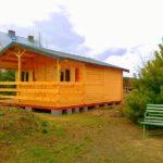 domek letniskowy z drewna